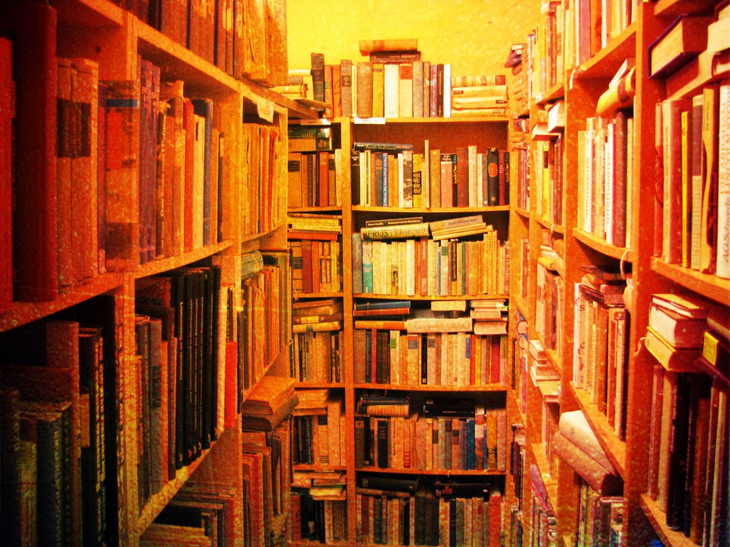 Bücherbahnhof