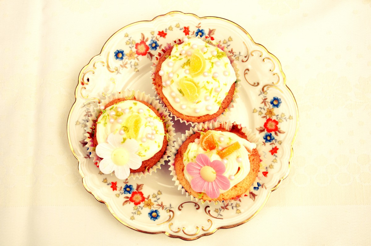 Vintage Cupcake Party