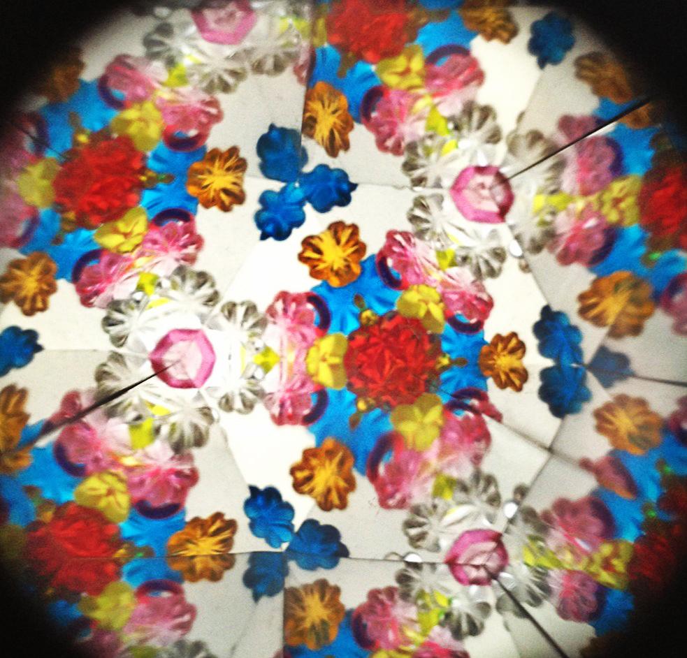 Blick durch das Kaleidoskop