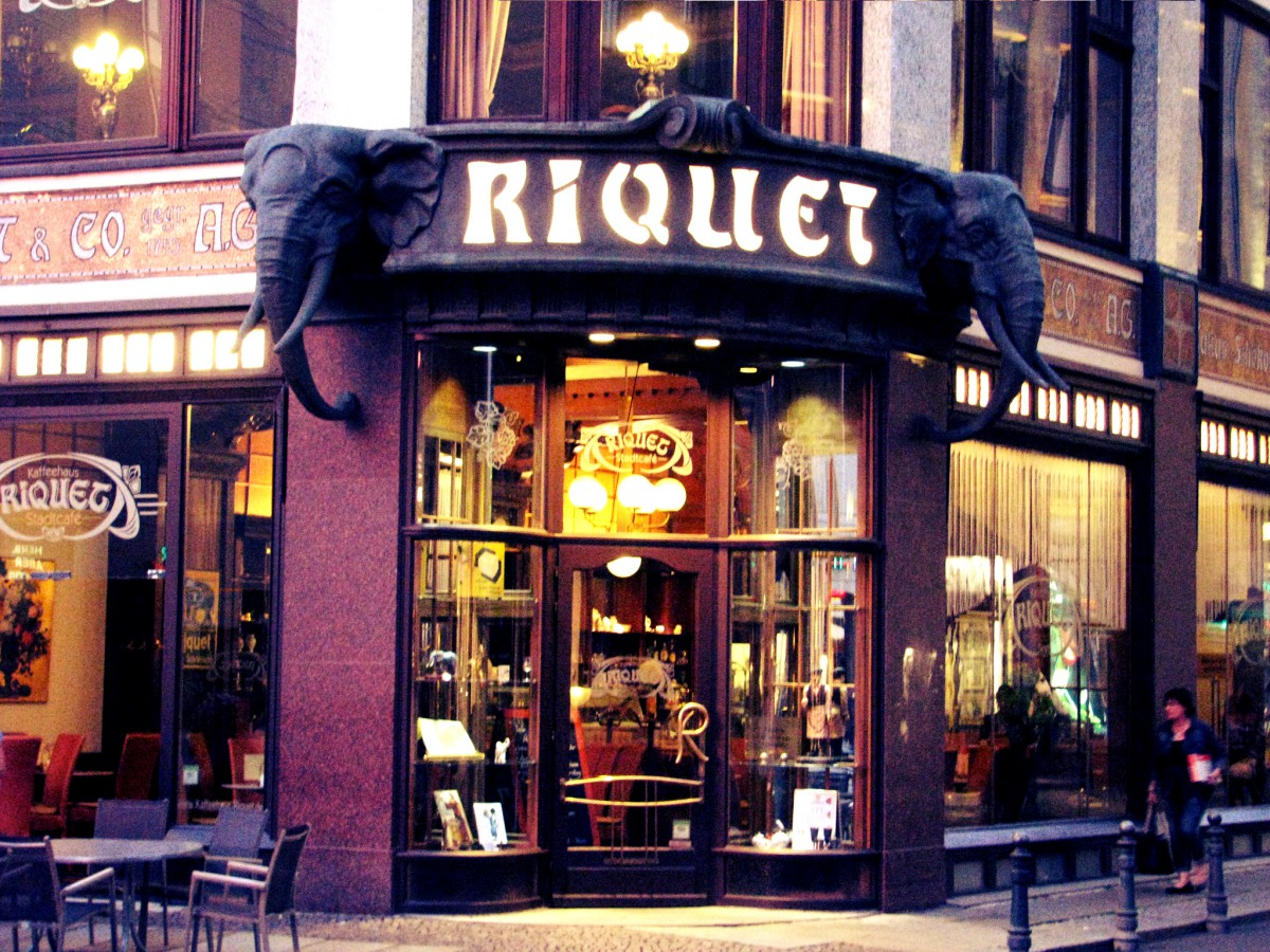 Das Café Riquet.