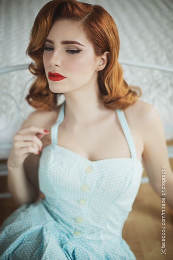 Pin Up Model Vanessa Frankenstein