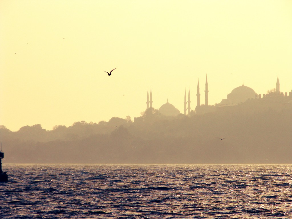 Istanbul Reise Silhouette