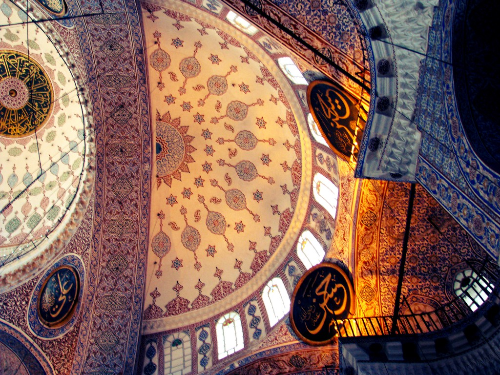 Istanbul Reise Moschee Kuppel