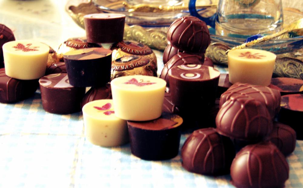 Halloren Schokoladenfabrik Vintagemädchen