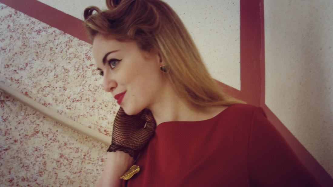 Vintage Vintagemädchen