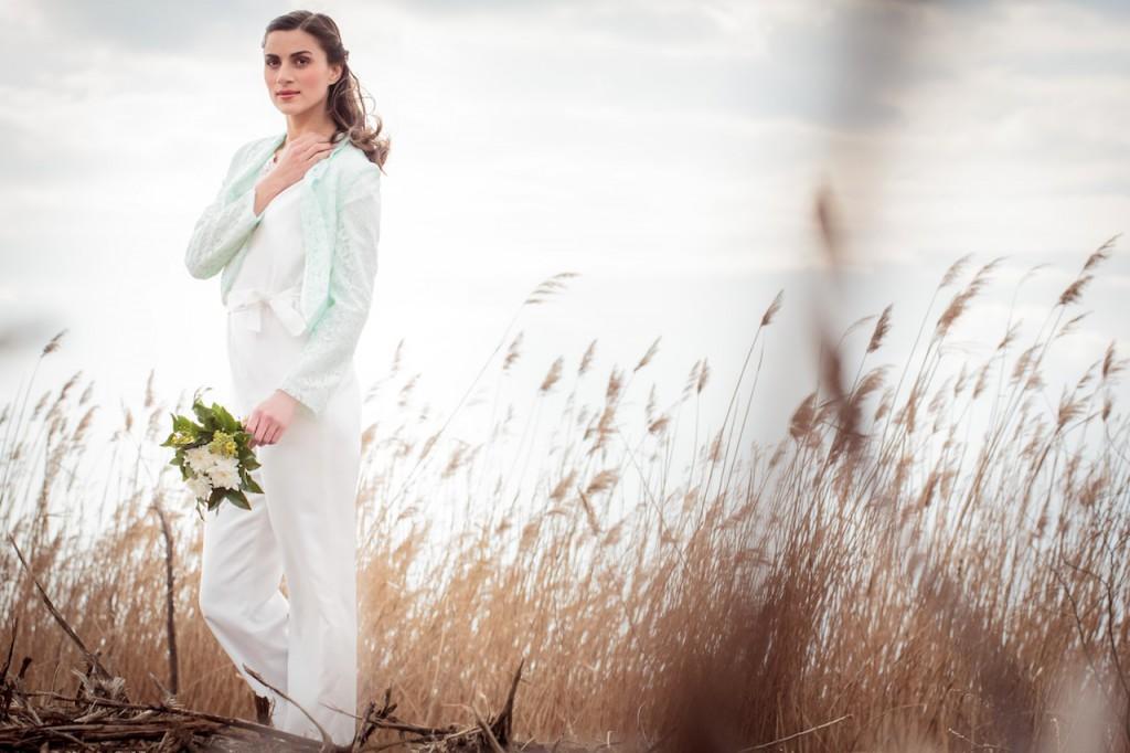 Brautkleid Vintage Stil - maßgeschneidert von Schleifenfänger