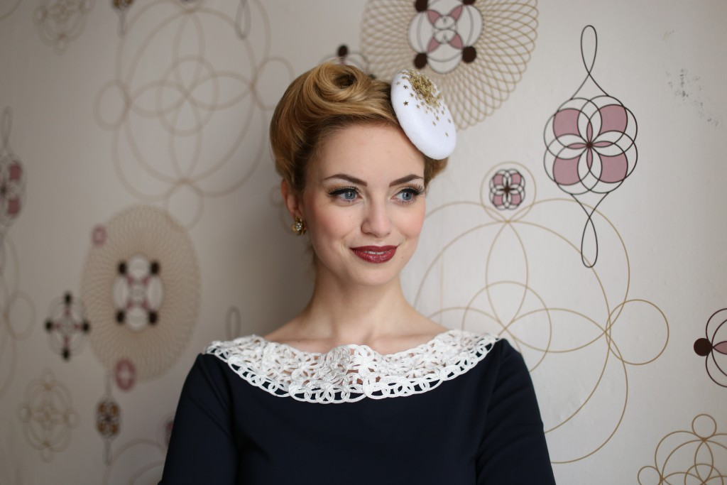 Fascinator Styling Tipps Damenhut
