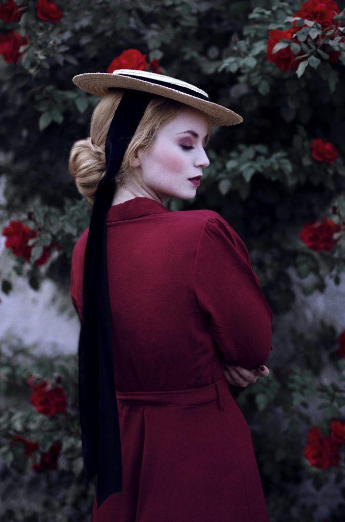 Vintage Model Vintagemädchen