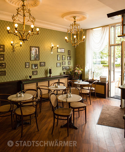 Reiseziele Vintage Leipzig Café Corso