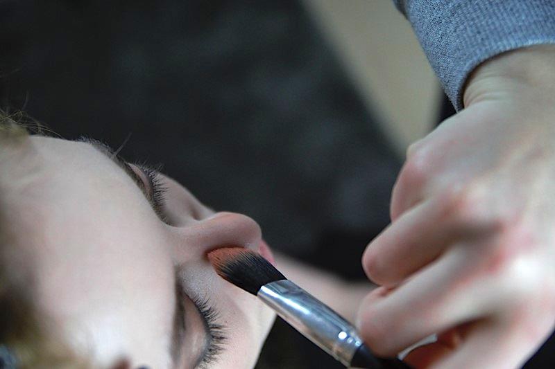 20er Jahre Makeup Kontur