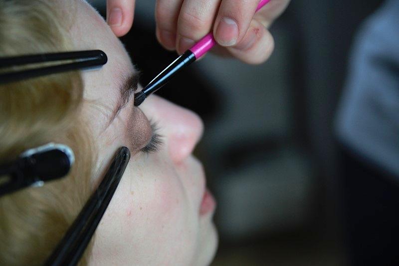 20er Jahre Makeup Lidschatten