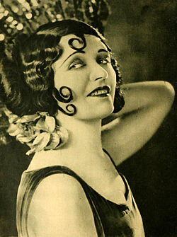 20er Jahre Make Up Pola Negri
