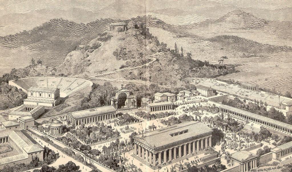 Sportgeschichte Olympia