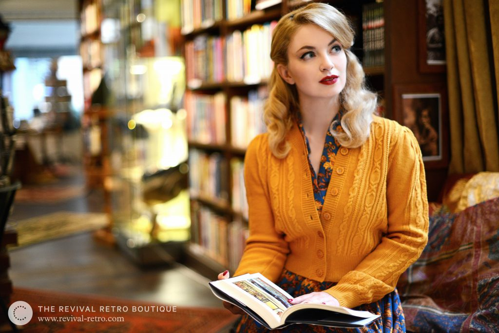 Making of a photoshoot Bookshop