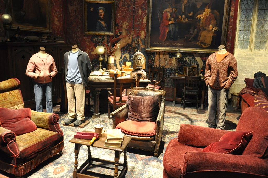 Warner Brothers Studio Tour London Common Room