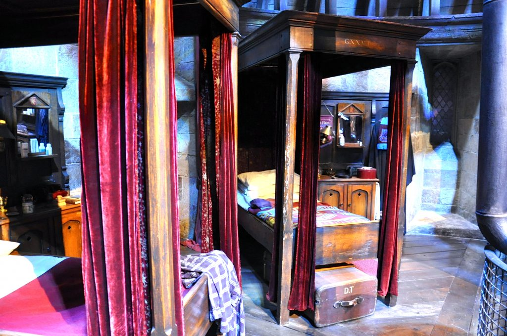 Harry Potter Ausstellung Dormitory