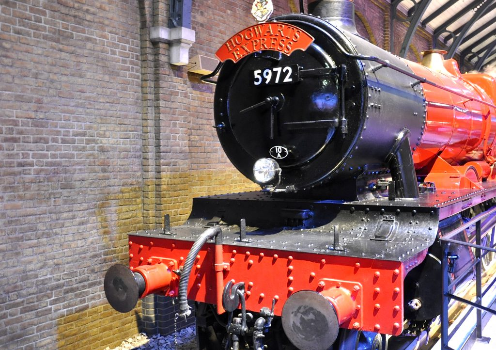Harry Potter Ausstellung Hogwarts Express