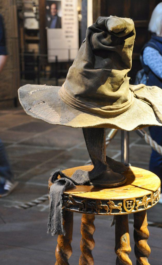 Warner Brothers Studio Tour London Sorting Hat