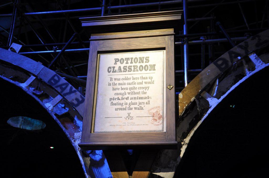 Warner Brothers Studio Tour London Potions