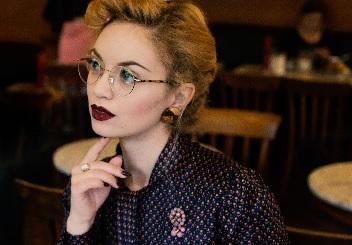 Vintage Brille Titel