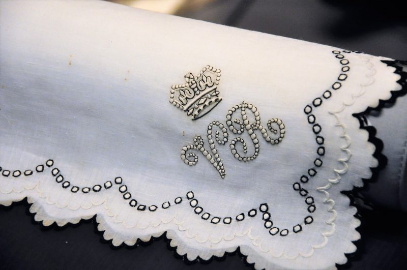 London's V&A Handkerchief