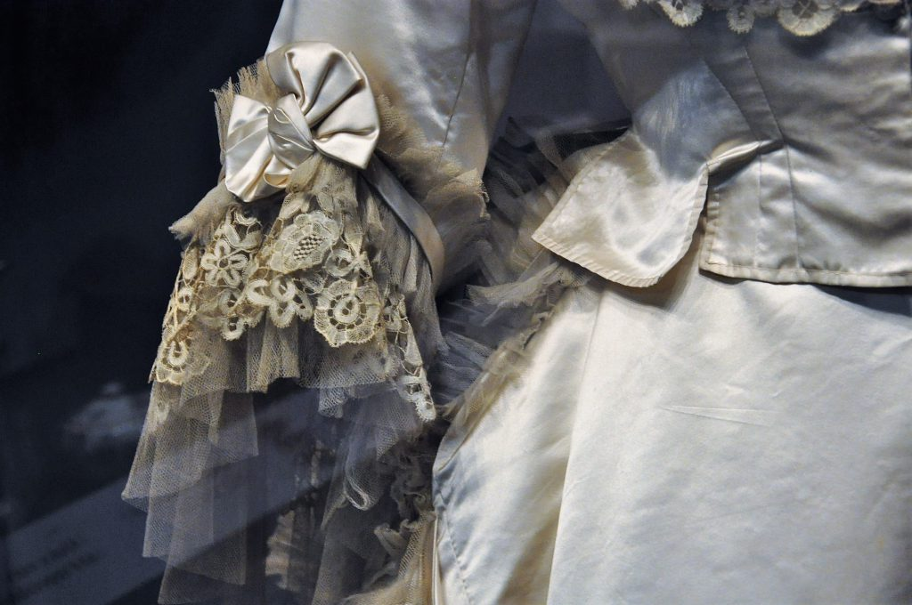 London's V&A Wedding Dress Victorian 2