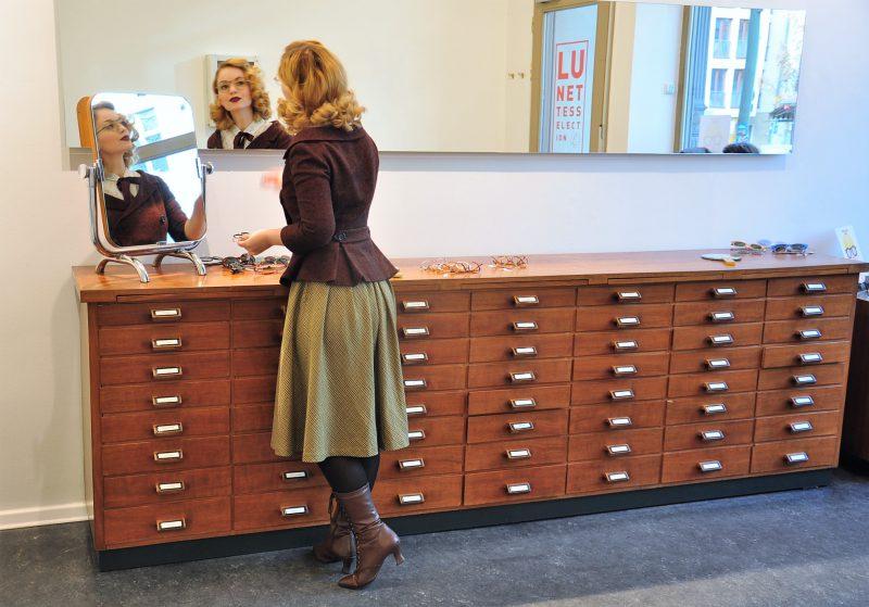 In Store 2 Vintage Eyewear Shop - Lunettes Selection Berlin