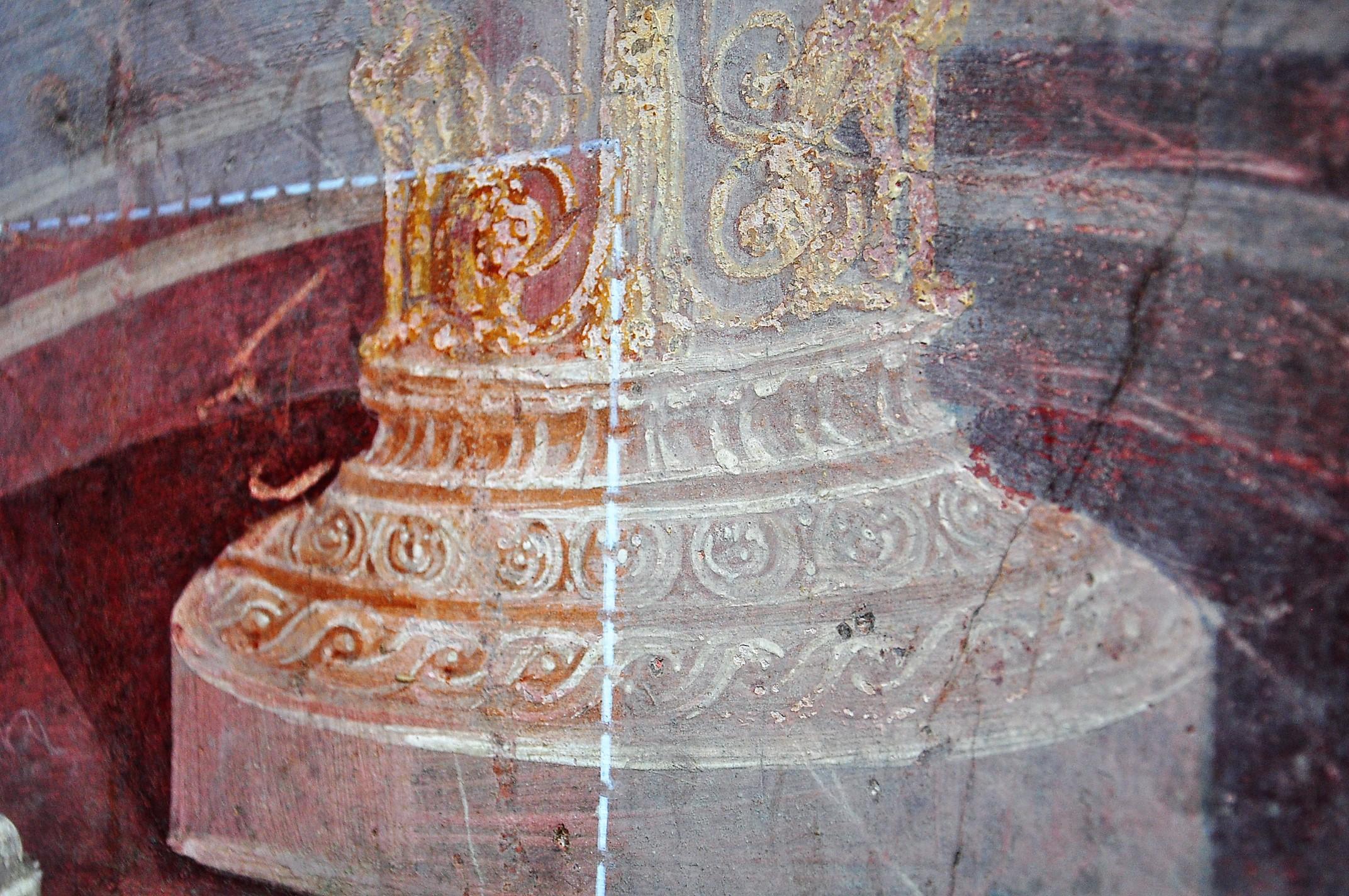 wall fresco 2 Pompeii visit Napoli - Neapel Tipps (67)