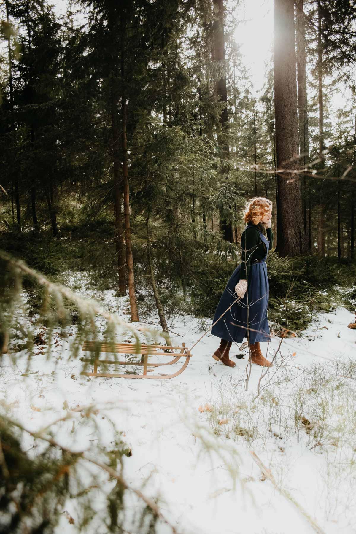 Snowy forest - Schneetag (2)
