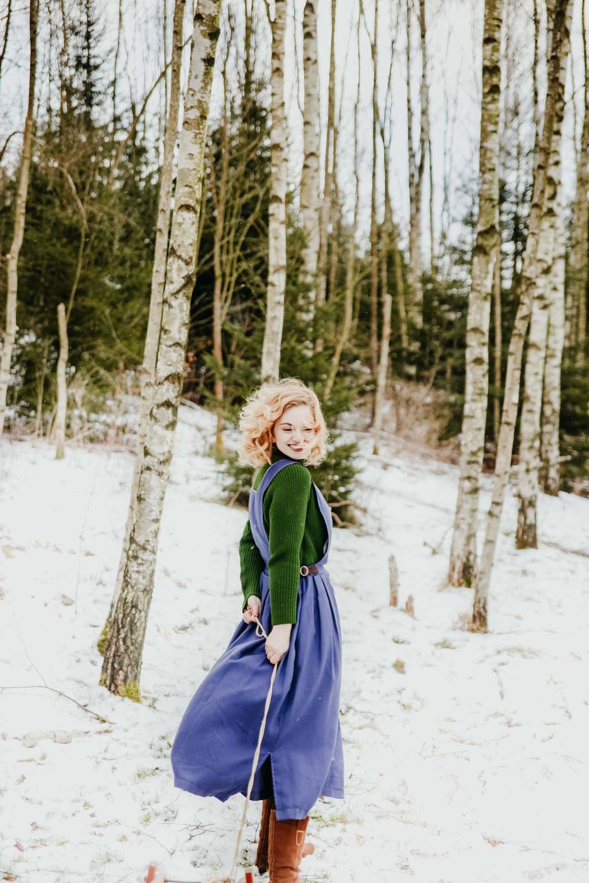 Snowy forest - Schneetag (20)