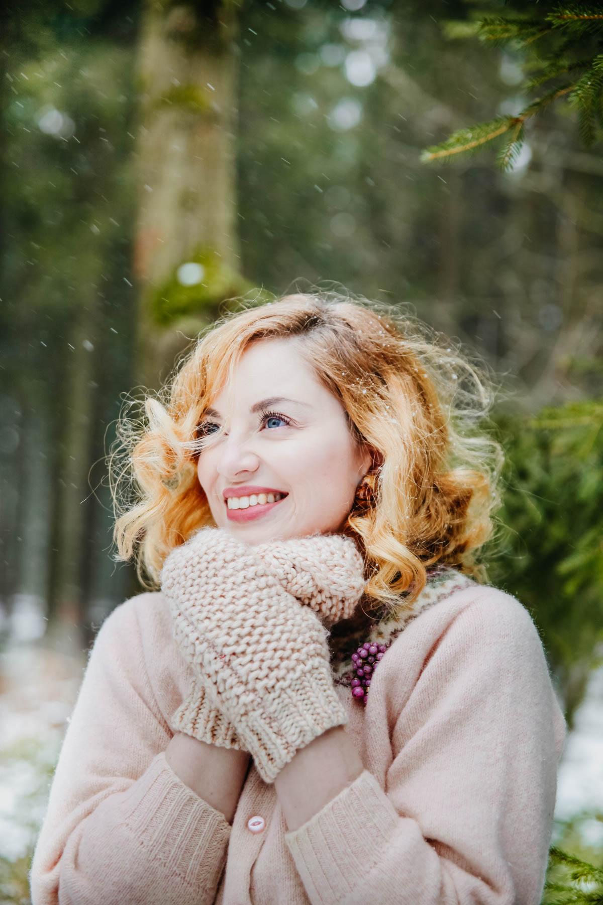 Snowy forest - Schneetag (32)