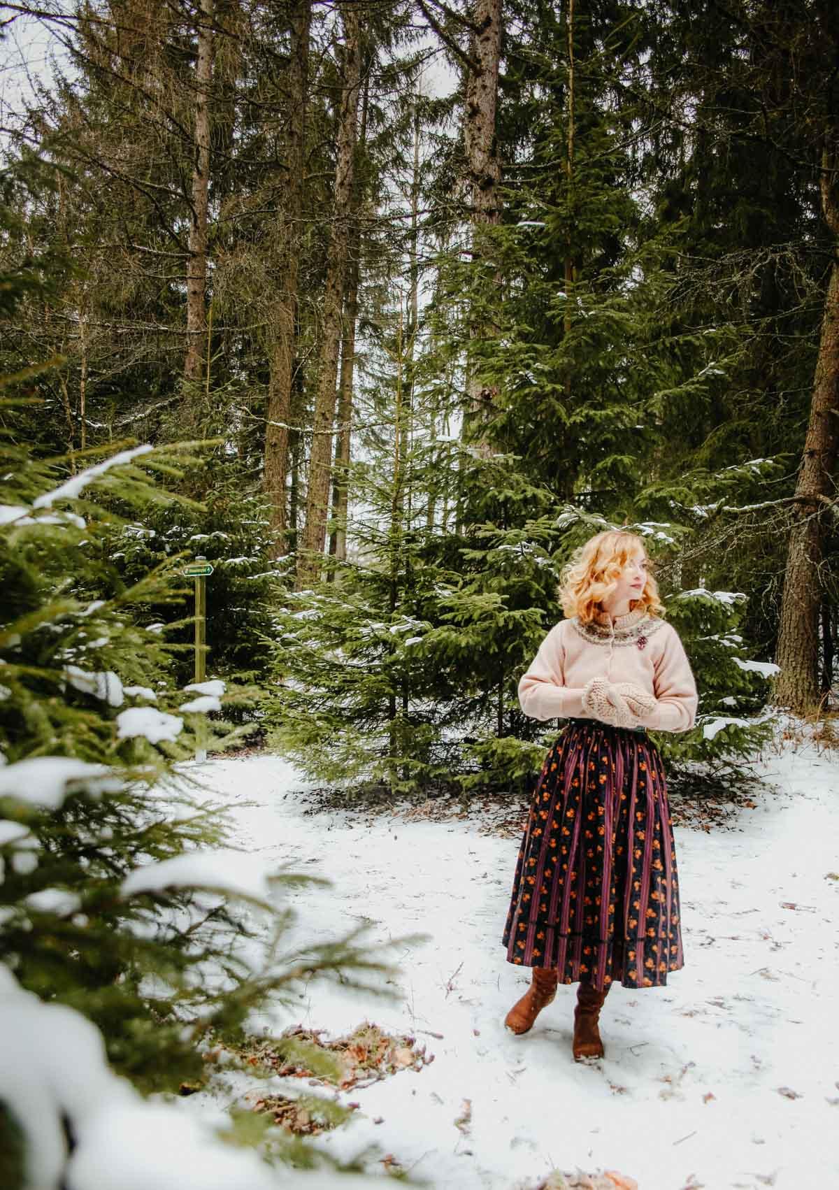 Snowy forest- Schneetag (32)