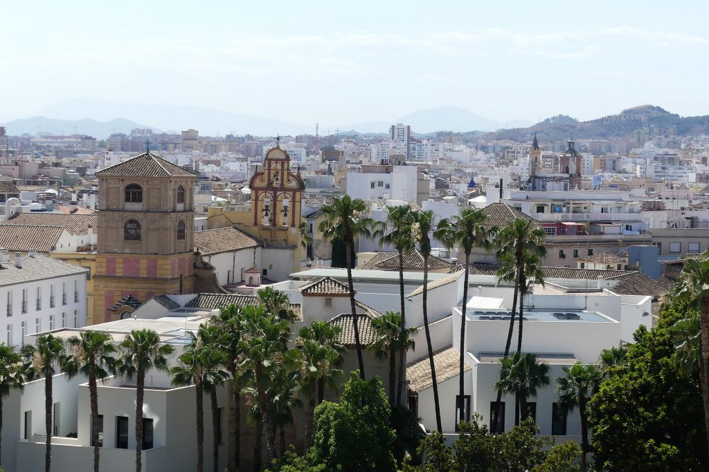 Málaga view - Andalucia travel - Reisebericht Andalusien