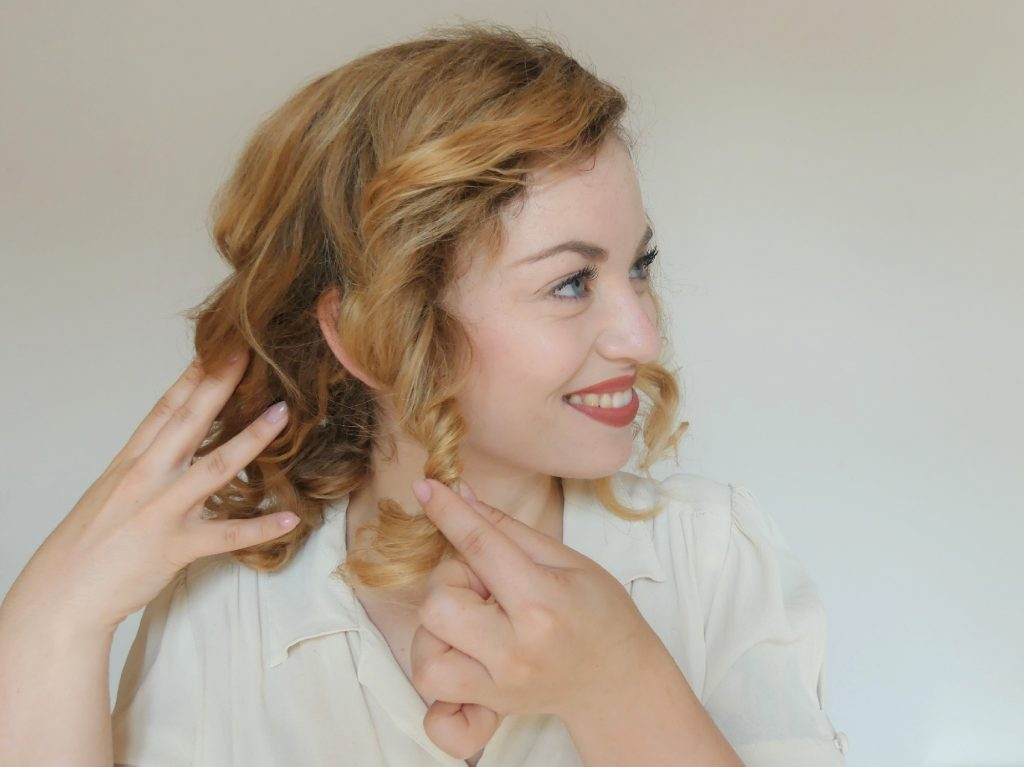 1940s hair tutorial - 40er Jahre Film - 40s movie (7)