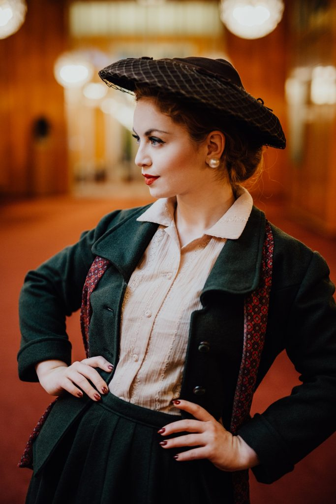 Vintage Model Victoria Beyer from Vintagemaedchen (13)